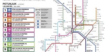 马来西亚自由行必读:吉隆坡交通攻略全覆盖