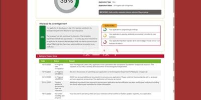 马来西亚学生签证EMGS进度(30%)跟进汇报小曹有话说