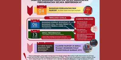 疫情期间马来西亚移民局部分开工,希望这是一个好的开始