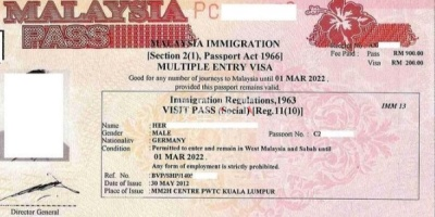 管制期间马来西亚第二家园签证持有人如何入境