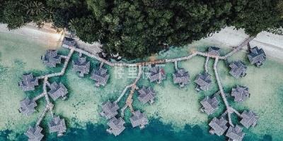 一间高端水上屋,马来西亚绿中海度假村Pangkor Laut Resort