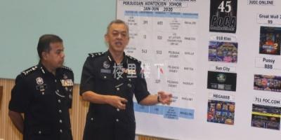 马来西亚网络赌博犯罪分子在新山又有新消息了