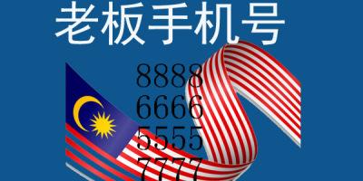 马来西亚手机靓号666都有哪些让人印象深刻的老板号