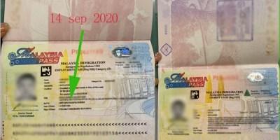 9月出的马来西亚工作签证ep2其中学生签转工签给大家了解