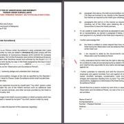 马来西亚自愿隔离同意书LOU Letter上都有什么内容?