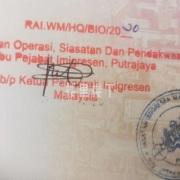 <请扩散>马来西亚逾期逗留移民局自首回国计划Program Rekalibrasi PATI方案